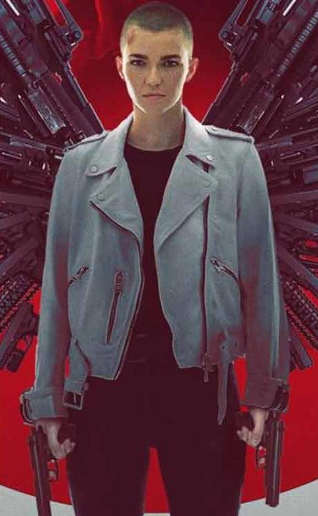 Vanquish Ruby Rose Leather Jacket