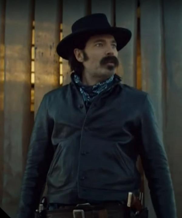 Wynonna Earp S04 Doc Holliday Leather Jacket