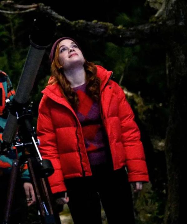 Zoey's Extraordinary Playlist Zoey Puffer Jacket