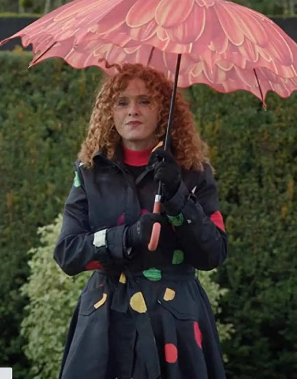 Zoey's Extraordinary Playlists Bernadette Peters Cotton Coat