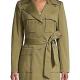 9-1-1 S04 Athena Grant Cotton Coat