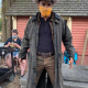A Cinderella Story Starstruck 2021 Jackson Stone Leather Coat