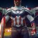 Anthony Mackie TFATWS Sam Wilson Captain America Leather Jacket