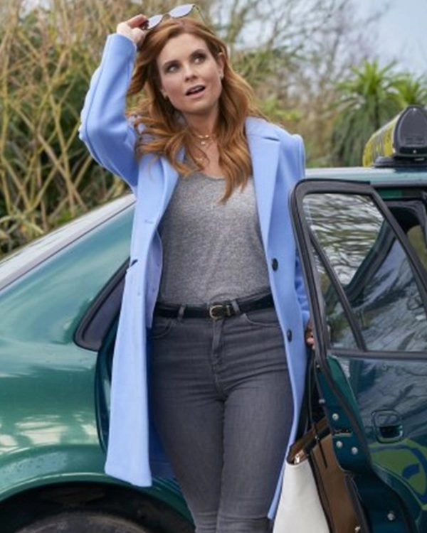 As Luck Would Have It 2021 JoAnna Garcia Swisher Coat