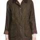 Big Sky Cassie Dewell Olive Polyester Jacket