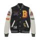 Bobby Tarantino Black And White Varsity Jacket