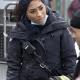 Chicago Fire Season 9 Gianna Mackey Black Cotton Coa