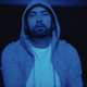 Darkness Eminem Grey Hood Cotton Jacket