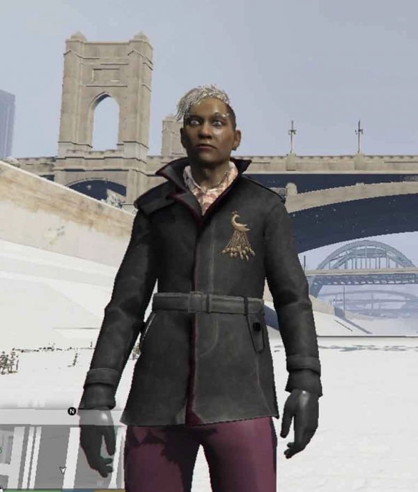Far Cry 4 Pagan Min Leather Coat