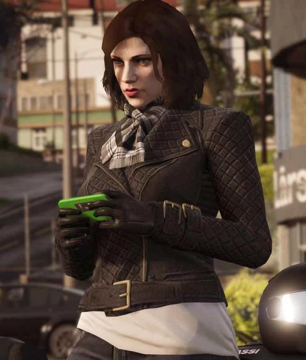 GTA 6 Females Protagonist Leather Jacket