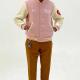 I Know Nigo Letterman Wool Jacket