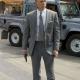 James Bond Skyfall Grey Wool Suit