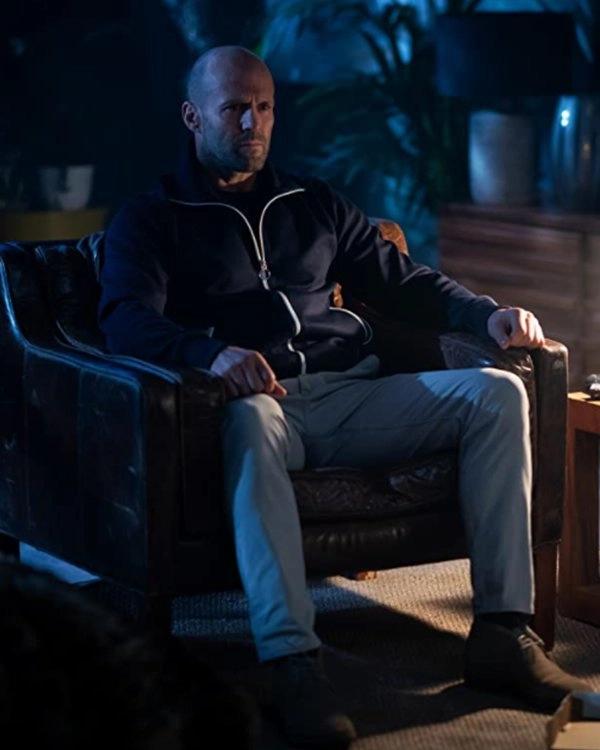Jason Statham Wrath of Man H Cotton Jacket