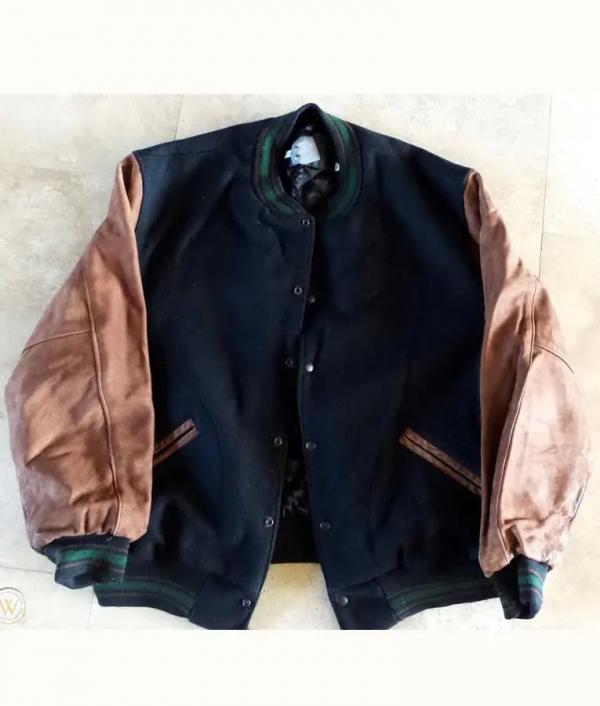 Jerome Allen Seinfeld Bomber Wool Jacket