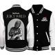 Juice Wrld Black & White Varsity Cotton Jacket