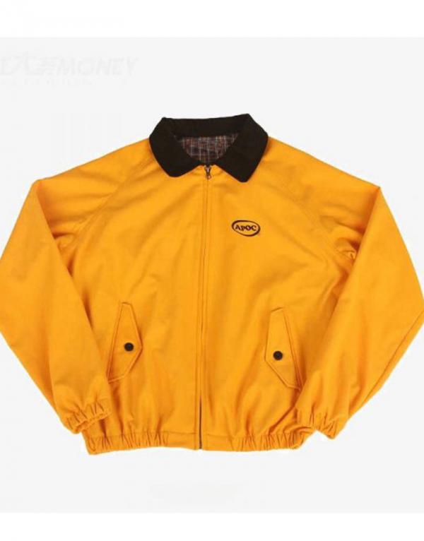 Jungkook Euphoria Apoc Bomber Cotton Jacket
