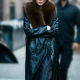 Kendall Jenner New York Leather Trench Coat