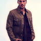 Kyle Valenti Roswell New Mexico Brown Cotton Jacket