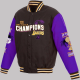 Los Angeles NBA Finals Lakers 17x Fleece Jacket