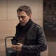 Lupin 2021 Capitaine Romain Laugier Leather Jacket
