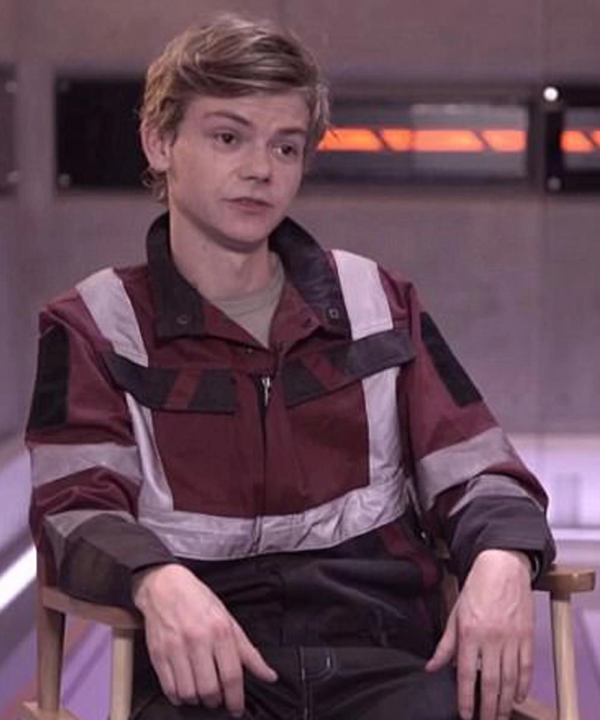 Maze Runner The Death Cure Newt Red Cotton Jacket