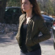 Queen of the South Teresa Mendoza Quilted Bomber Jacket