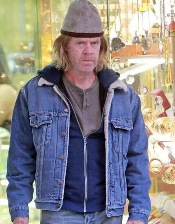 Shameless Frank Gallagher Blue Denim Jacket