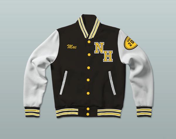 Snoop Dogg N. Hale High School Varsity Wool Jacket
