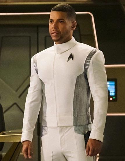 Star Treks TV Series Discovery Wilson Cruz Leather Jacket