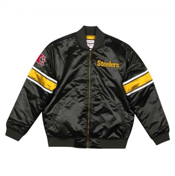 Steelers Bomber Satin Jacket