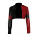 Suicides Squad 2021 Harley Quinn Cropped Jacket