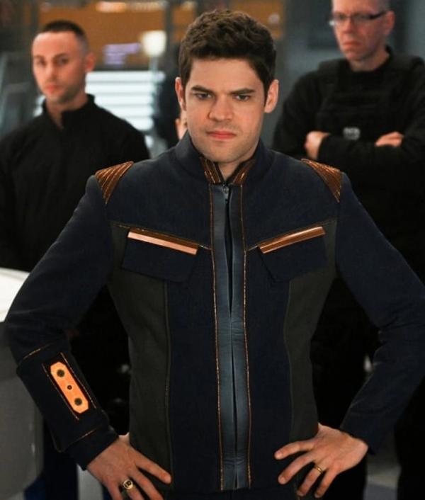 Supergirl S05 TV Series Winn Schott Cotton Jacket