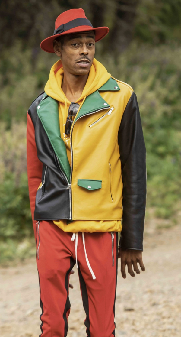The Challenge All Stars Teck Holmes Leather Jacket