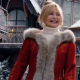 The Christmas Chronicles 2 Mrs. Claus Wool Trench Coat