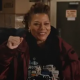The Equalizer Queen Latifah Red Cotton Jacket