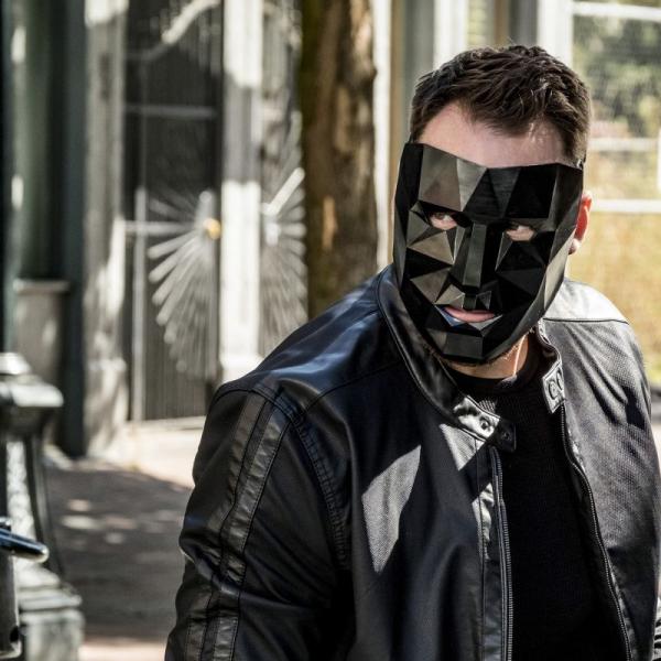 The Flash Season 5 Gridlock Black Leather Jacket