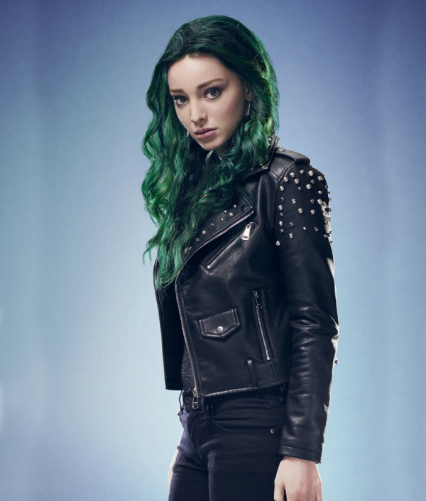 The Gifteds S02 Lorna Dane Black Leather Jacket