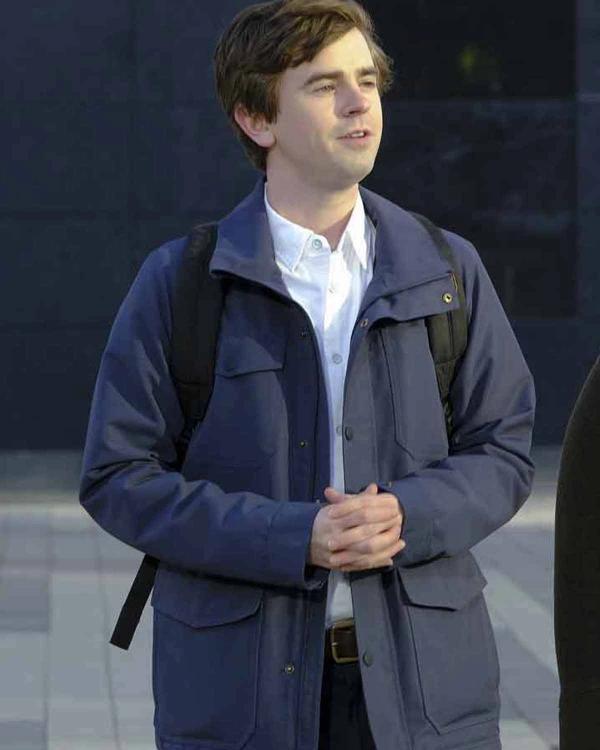 The Good Doctor Season 04 Dr. Shaun Murphy Grey Jacket