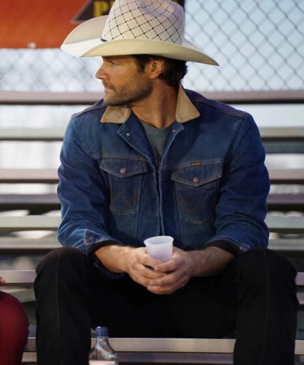 Walker (2021) TV Series Jared Padalecki Denim Jacket
