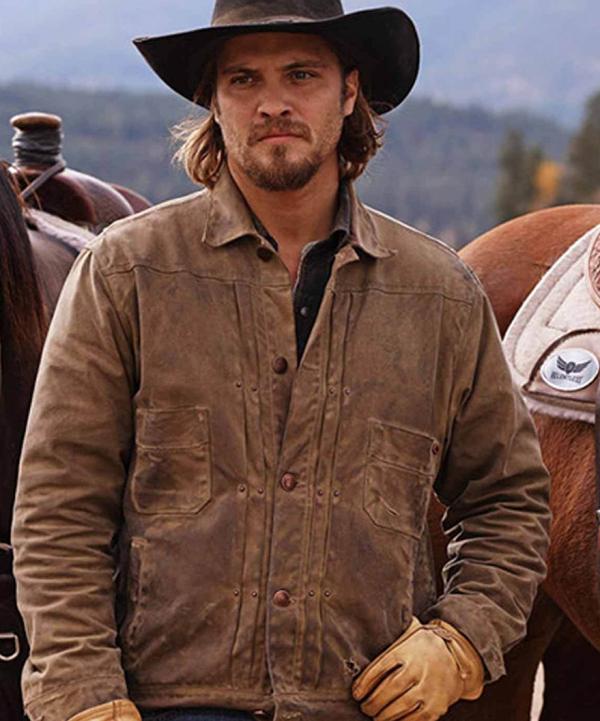 Yellowstone Kayce Dutton Brown Leather Jacket