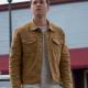 Alexander Calvert Supernatural Season 15 Jack Denim Brown Jacket