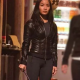 Anna Sawai Fast and Furious 9 Black Leather Jacket