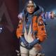 Apex Legends Season 02 Wattson Orange And Blue Cropped Jacket With Hood