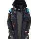 Arknights Doctor Black Cotton Coat