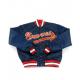 Blue Braves Bomber Satin Jacket