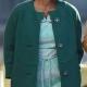 Carolyn Franklin Respect 2021 Hailey Kilgore Sea Cotton Coat