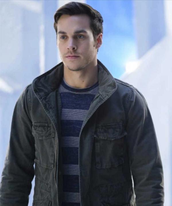 Chris Wood TV-Series Supergirl Mon-El Cotton Jacket