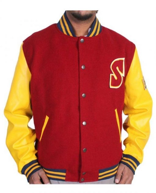 Clark Kent Smallville Superman Crows Varsity Jacket