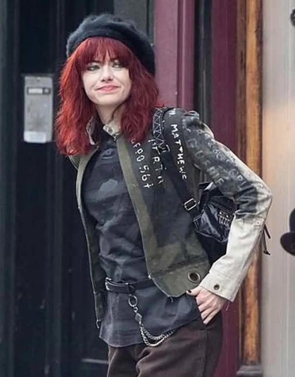 Cruella De Vil Cruella 2021 Emma Stone Cotton Jacket
