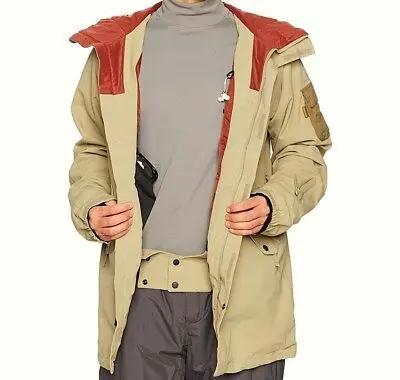 Deeps Creek Snowboard Sand Polyester Jacket